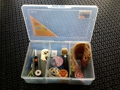 3 off Fischer Plastic Products 3 Compartment Storage Box Large / Deep 1H-090