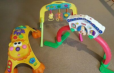 FISHER PRICE Cruise Around Activity Table AND Play Arch