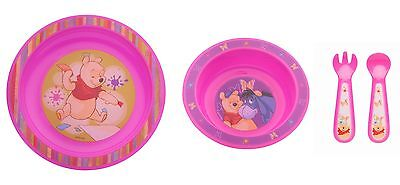 3 Piece Set : Baby Eating bowl+Eating learning plate + Cutlery