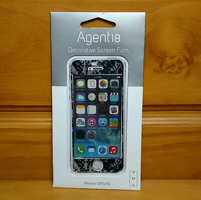 Agent18 black lace screen protector for iphone5/5s/5c