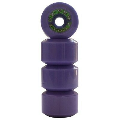 Z-Flex Wheels Z-Pro Purple 60mm 90a For Cruisers, Pool & Old Skool Skateboards