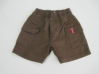 Timberland Baby Elastic Waist Shorts size 6 months Colour Brown T04261