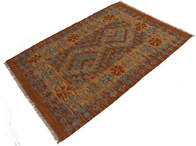 120x83 CM Autentik Kilim Kelem Original Hand Made Classic STYL - EASY TO CLEAN