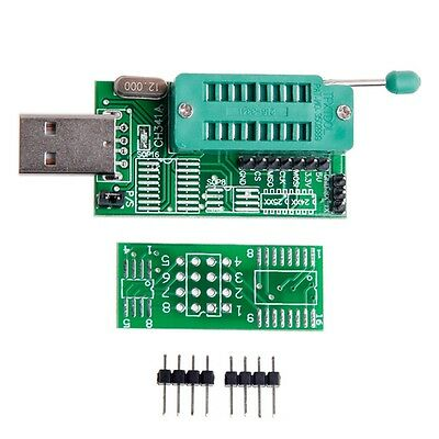 CH341A 24 / 25 Series EEPROM Flash BIOS DVD USB Multi-Function Programmer