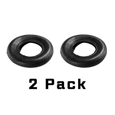 2 x 4.00 - 8 (4.80/4.00 - 8) WHEELBARROW TYRE AND INNER TUBE, INNERTUBE, GARDEN