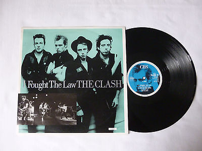 "The Clash ~ I Fought The Law ~ Vg+/vg+ ~ 1988 Uk Punk Rock 12"" Vinyl Single Ep"