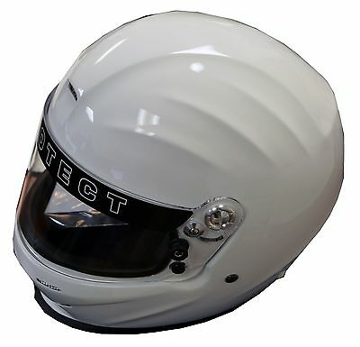 Pyrotect Bell Racing Pro Sport Dot Helmet Off Road White Sa2010 Full Face Xl