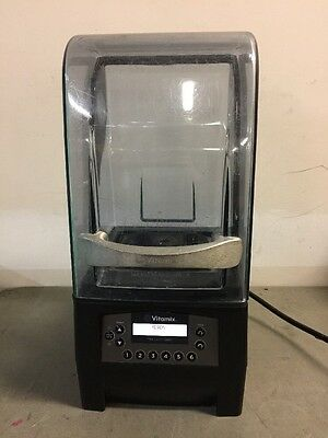 Vitamix The Quiet One Used With Enclosure On Counter Model