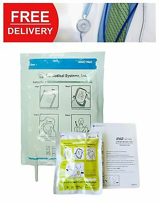 Adult/Child Electrode Pads Pre-Connected For Ipad Nf1200 (1 Pair) Aed Emergency