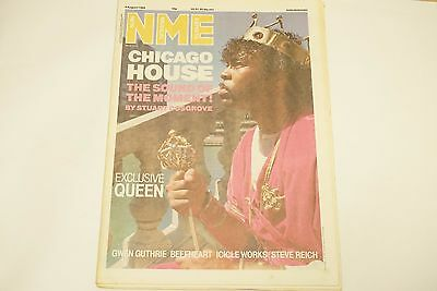 New Musical Express Nme Magazine  9 August 1988  Queen      Ls
