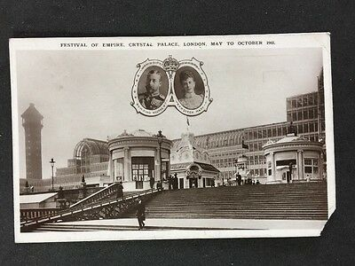 Vintage Postcard: Exhibition: #A3 : Festival Of Empire Crystal Palace 1911