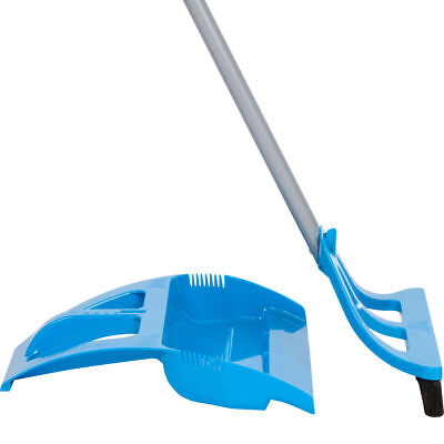 WISPsystem One-Handed WISP Broom and Foot Operated Dust Pan Set Kitchen House