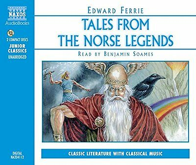 Tales From the Norse Legends (Junior Classics) New Audio CD Book Ferrie, Soames
