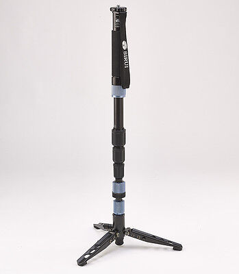 Sirui P-204S Aluminum Photo/video Monopod w/ Three Stand Feet & Carry Bag