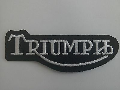 Triumph Old Design Style Sew Or Stick On  Patch