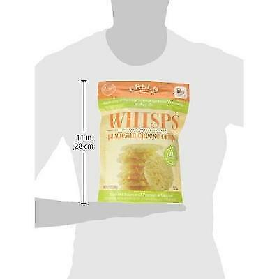 Cello Whisps Parmesan Cheese Crisp, 9.5 Ounce New
