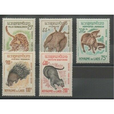 Laos - 1965 - No PA 47/PA 51 - animaux divers