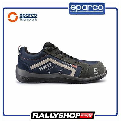 SPARCO URBAN EVO shoes Racing Boots Race Sport Rally Mechanics S1P NEW Navy blue