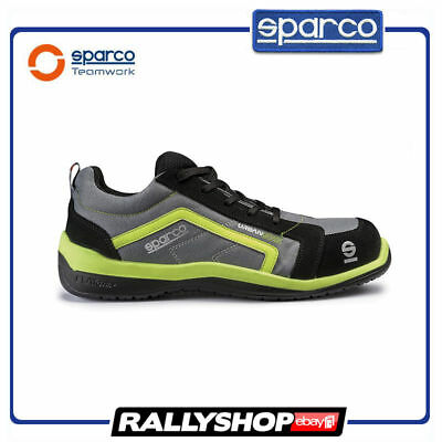 SPARCO URBAN EVO shoes Racing Boots Race Sport Rally Mechanics S1P Grey Green