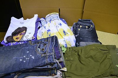 Justice Girls Clothing 17 Pcs. Size 10, 10S, And 10R