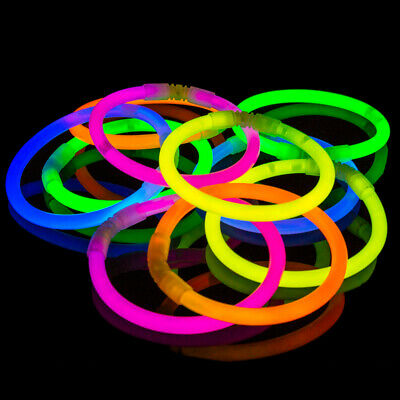 100 Glow Sticks Glow Bracelets Best Selling Brightest