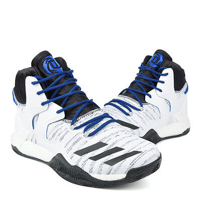 db420f138482 Adidas D Rose 7 Boost VII drose mens white basketball shoes NEW Adidas  B72720