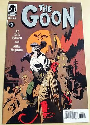 The Goon #7 (2004, Dark Horse) Eric Powell SIGNED Mike Mignola (Hellboy) VF/NM