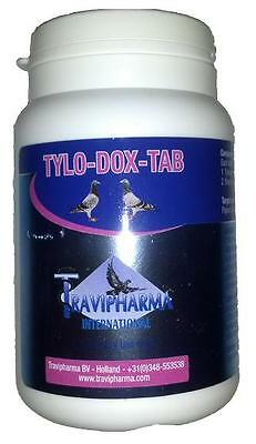 Pigeon Product - Tylo-Dox-Tab 100 Tabs by Travipharma - Racing Pigeons