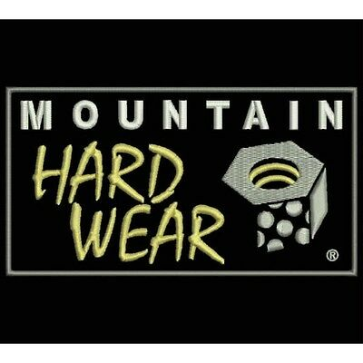 Iron Patch bestickt Patch zona ricamata parche bordado MOUNTAIN HARDWEAR