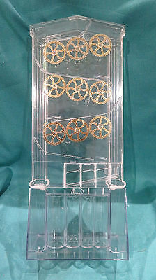 Amazing Transparent Coin Sorter New In Box Counts Four Coin Denominations