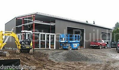 DuroBEAM Steel 40x60x15 Metal Rigid Frame Clear Span Building Structure DiRECT