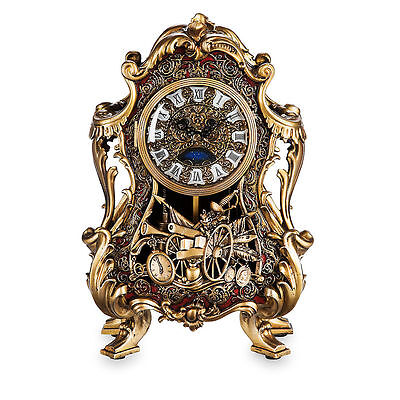 Disney Store Beauty And & The Beast Cogsworth Clock Limited Edition Live Action