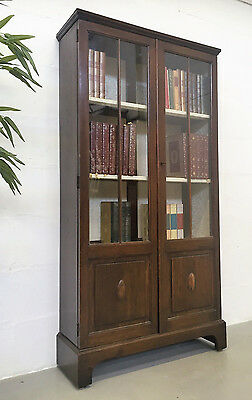 Good Quality Antique 1930S Oak Bookcase