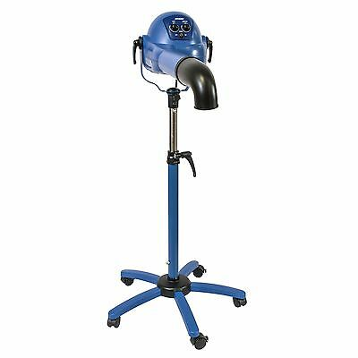 XPOWER B-16S Pro Finisher Variable Speed & Heat Brushless Pet Stand Ionic Dryer