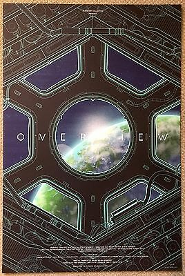 Kevin Tong OVERVIEW Original Screenprint 24x36 Poster Limited Edition