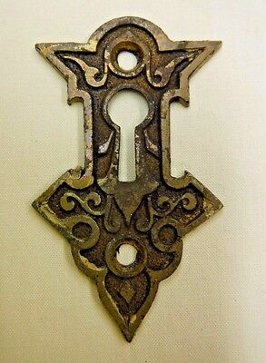 Antique Brass Key Hole Cover
