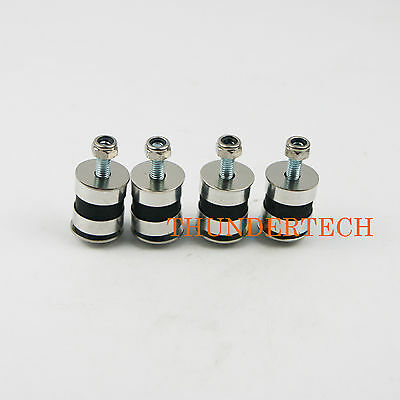 4Pcs of DT Anti Vibration Rubber Mount fit ZENOAH Engine for RC Gas Boat Rio 51Z