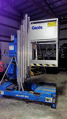 1998 GENIE IWP20S electric personal manlift scissor lift man lift