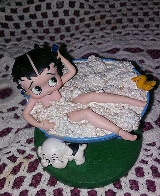 Betty Boop Bubble Bath Trinket Box Vintage.