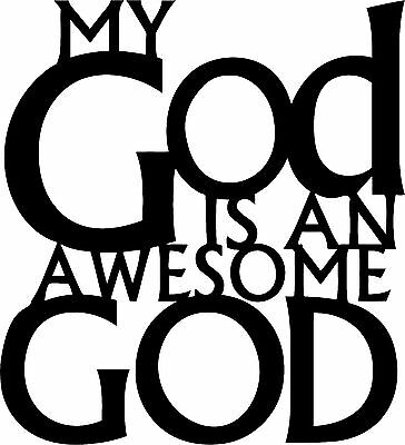 DXF CNC dxf for Plasma Laser Awesome God Vector Metal Wall Art Dxf