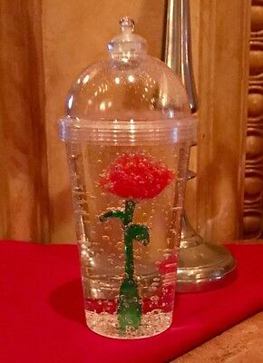 Disney's Beauty and The Beast Limited Ed Enchanted ��Light Up Cup. Rare