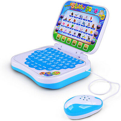 Electronic Kids Baby Children Learn English Machine Laptop Computer Toy Eduation