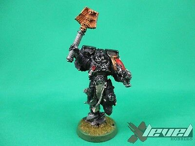 Chaplain with Jump Pack – Metal [x1] Space Marines [Warhammer 40,000] Painted