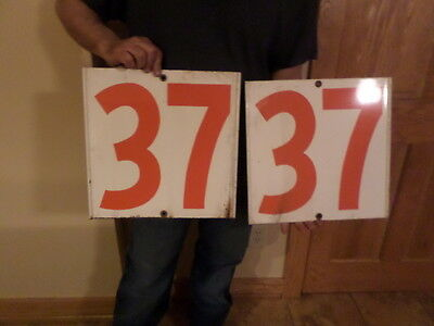 gulf gas station numbers sign lot
