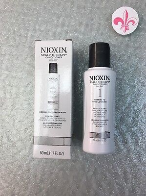 Nioxin System # 1 Scalp Therapy 1.7 oz Travel sz Normal Thin Looking Hair