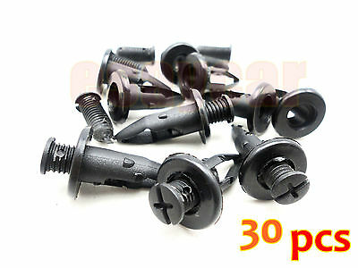 10 Cutlass Malibu Achieva Ft Bumper Fascia Push Type Clips Retainers