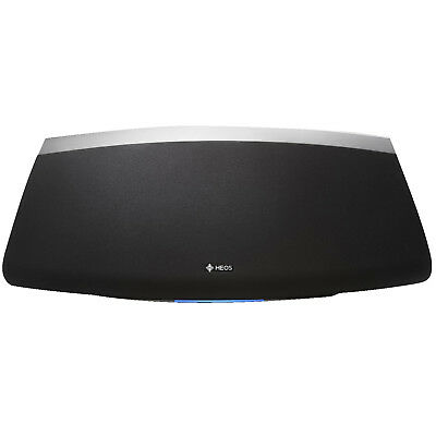 denon heos 5 lautsprecher schwarz wifi wlan airplay bluetooth multiroom garan eur 309 00. Black Bedroom Furniture Sets. Home Design Ideas