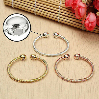 Healing Magnetic Therapy Bracelet Arthritis Pain Relief Twisted Bangle Useful