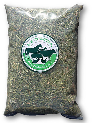 Fine Cut Lucerne Hay for Rabbits, Guinea Pigs & Small Animal Food 1kG