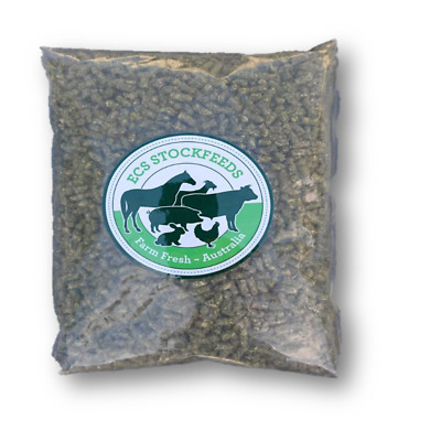 100% Lucerne Pellets for Rabbits, Guinea Pigs & Small Animal Food 2kG